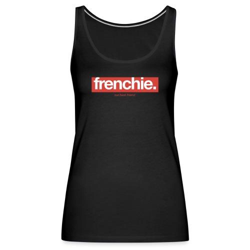 Frenchie Banner - Französische Bulldogge - Frauen Premium Tank Top
