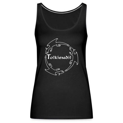 Tolkiendil & Trois dragons (creux) - Débardeur Premium Femme