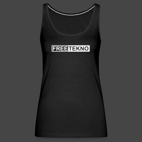 freetekno - Débardeur Premium Femme