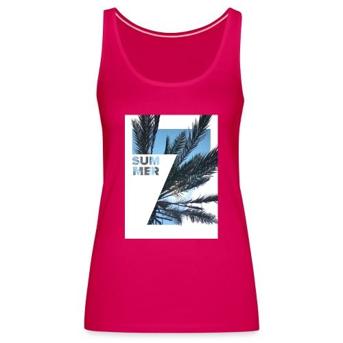Summertime - Vrouwen Premium tank top