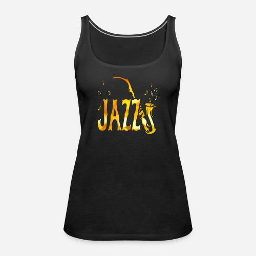 Tribal Saxophon Jazz Musik - Frauen Premium Tank Top