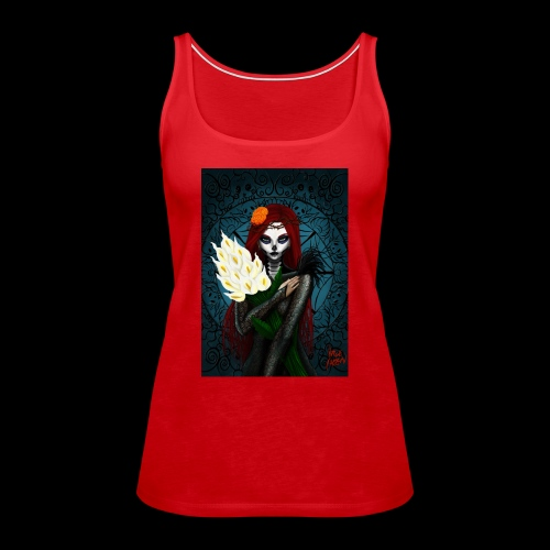 Death and lillies - Women's Premium Tank Top