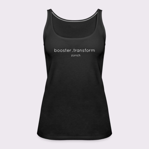 booster.transform zürich - Women's Premium Tank Top