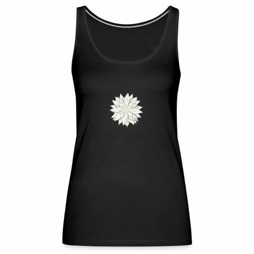 White Flower - Frauen Premium Tank Top
