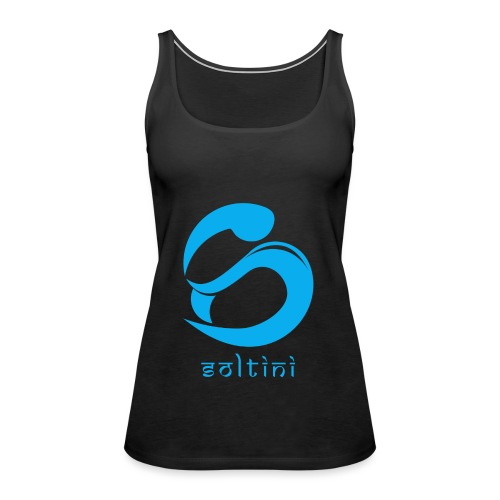 SoltiSquad Blue Logo for Soltini (Female) - Women's Premium Tank Top