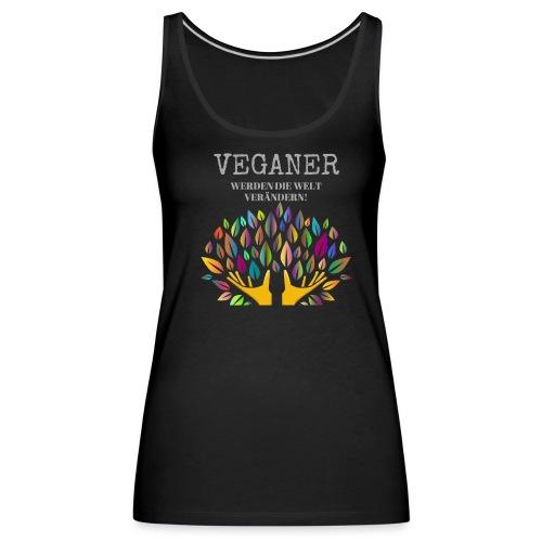 Veganer - Frauen Premium Tank Top