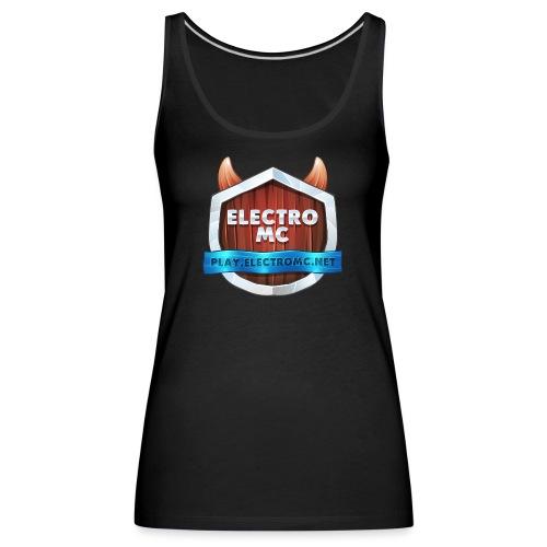 ElectroMC Logo - Vrouwen Premium tank top