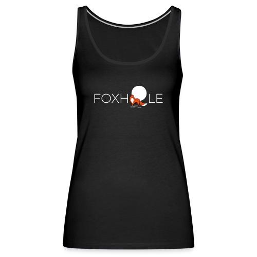 Foxhole Moon White - Frauen Premium Tank Top