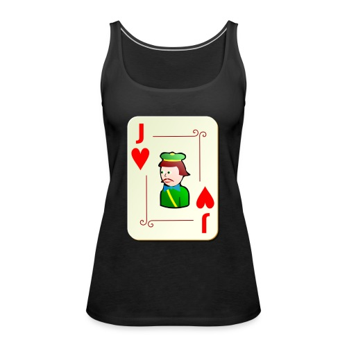 Jack Hearts png - Women's Premium Tank Top