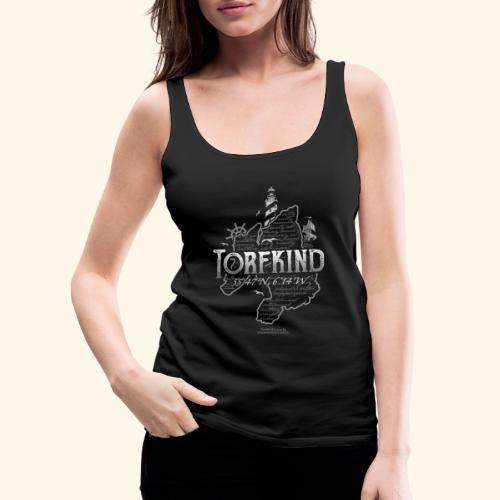 Torfkind Islay Whisky T Shirt Design - Frauen Premium Tank Top
