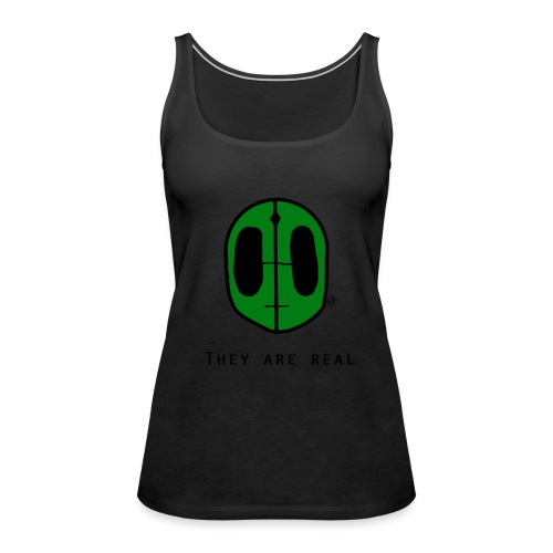 They Are Real - Women's Premium Tank Top