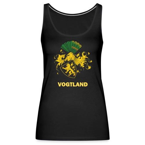 Vogtland Wappen Weida - Frauen Premium Tank Top
