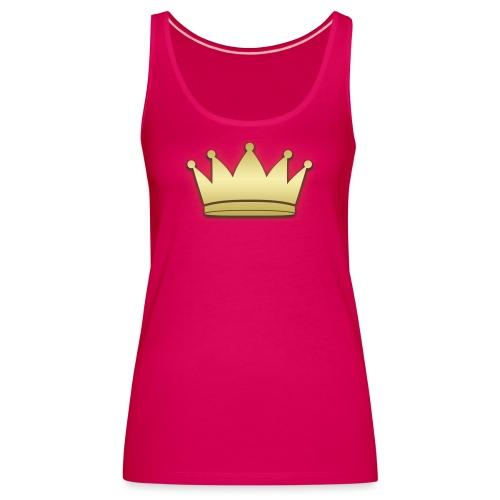 Paradise Crown Gold - Vrouwen Premium tank top