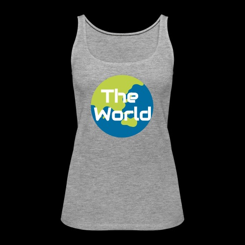 The World Earth - Dame Premium tanktop