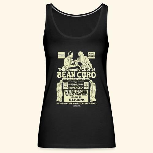 Vegan Tofu T Shirt Design Bean Curd - Frauen Premium Tank Top