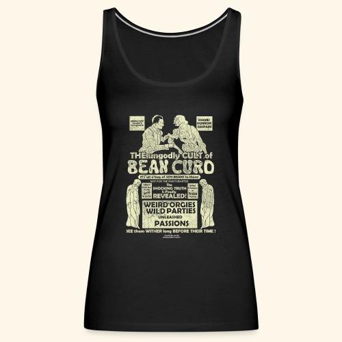 Veggie T Shirt Design Bean Curd Film Poster Spoof - Frauen Premium Tank Top