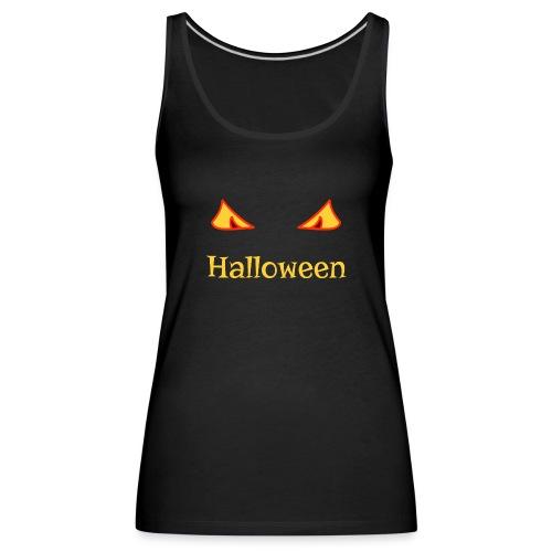 Halloween und gruselige Augen - Frauen Premium Tank Top