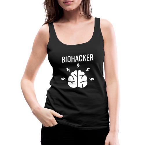 Biohacker Biohacking Geschenk Lifestyle Keto Shirt - Frauen Premium Tank Top