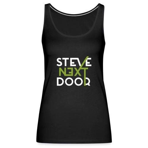 Steve Next Door - Klassisches Logo - Frauen Premium Tank Top