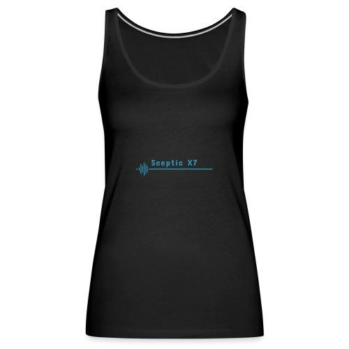Sceptic logo merch - Women's Premium Tank Top