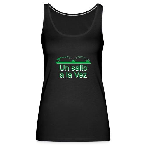rana saltar - Camiseta de tirantes premium mujer
