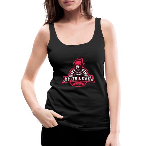 XP To Level Merchandise - Level Up Your Merch! - Women's Premium Tank Top
