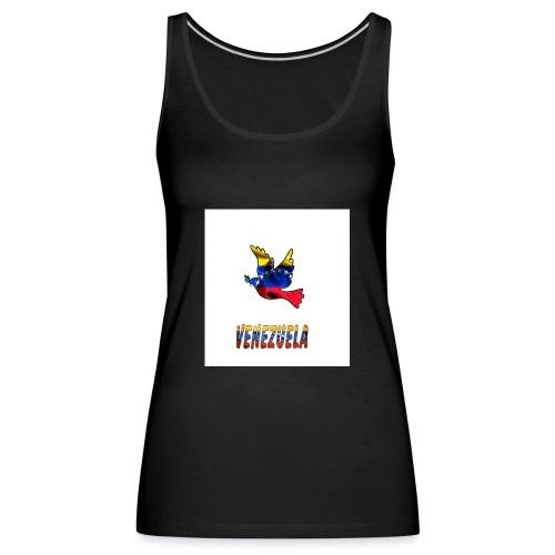vzl - Camiseta de tirantes premium mujer