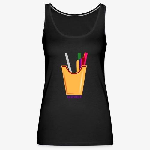 LOVE POP - Camiseta de tirantes premium mujer