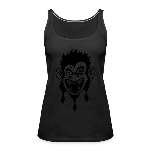 Crazy Monkey - Frauen Premium Tank Top
