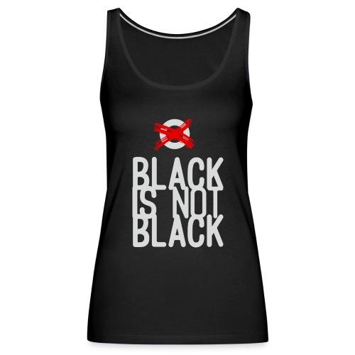 BLACK - Tank top damski Premium
