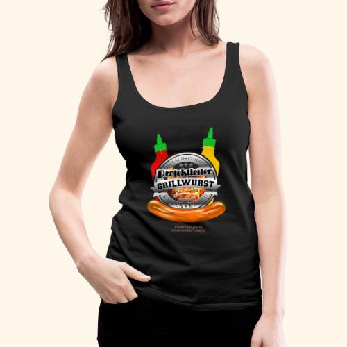 Grillen T Shirt Projektleiter Grillwurst - Frauen Premium Tank Top