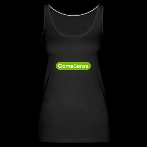 Clothing with green gamesense.pub - logo - Women's Premium Tank Top