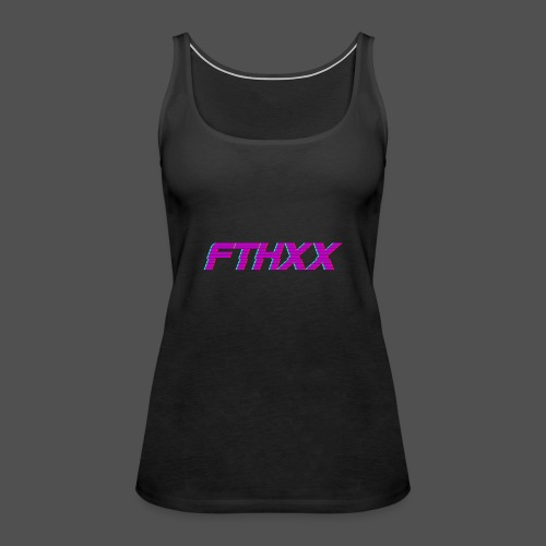 FTHXX Synthwave - Women's Premium Tank Top