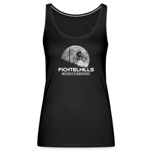 fichtelhills mountainbiking night ride fullmoon - Frauen Premium Tank Top