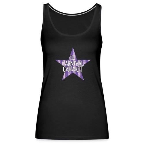 bonnet LCC noir etoie violette - Women's Premium Tank Top