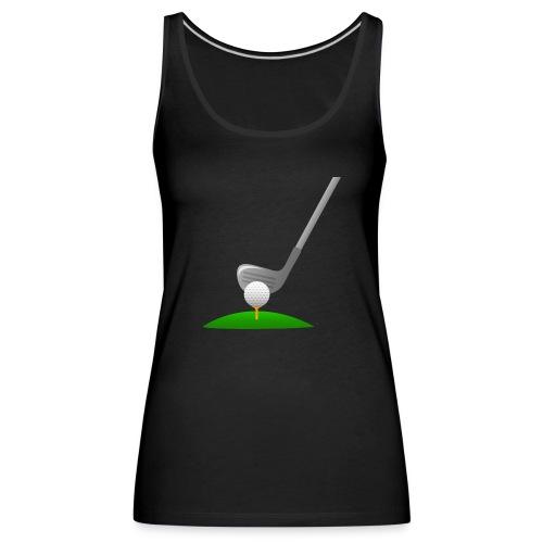 Golf Ball PNG - Camiseta de tirantes premium mujer