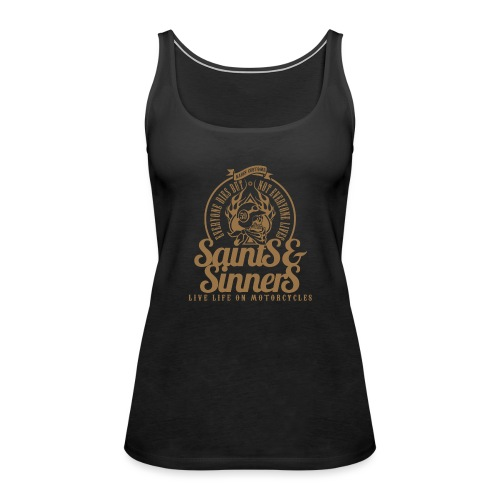 Kabes Saints & Sinners - Women's Premium Tank Top
