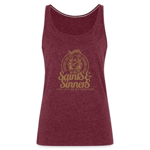 Kabes Saints & Sinners - Women's Premium Tank Top