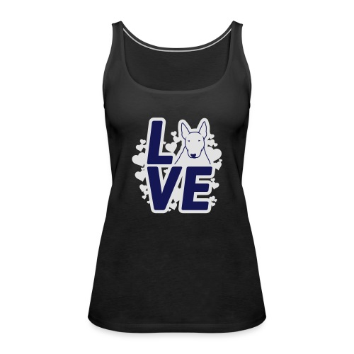 BULL TERRIER LOVE - Frauen Premium Tank Top