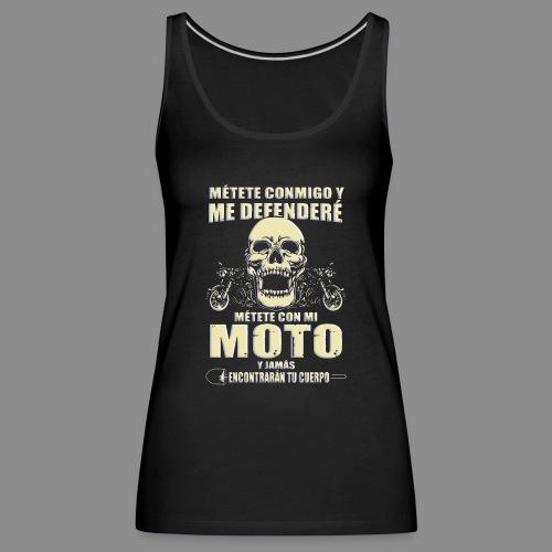 Me defenderé - Camiseta de tirantes premium mujer