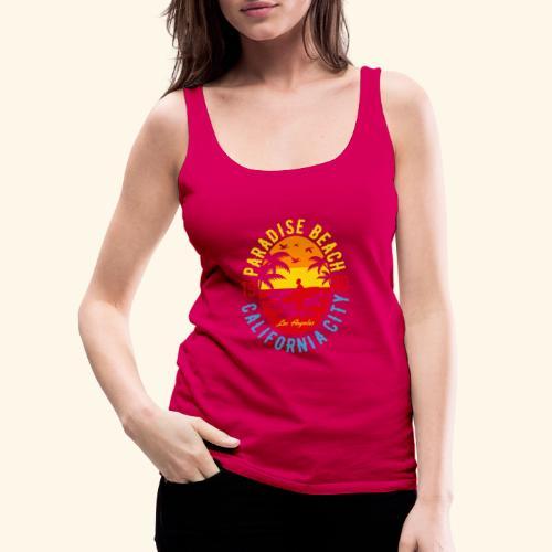 Sunshine Paradise - Frauen Premium Tank Top