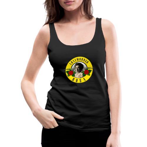 Rosa Luxemburgo - Camiseta de tirantes premium mujer