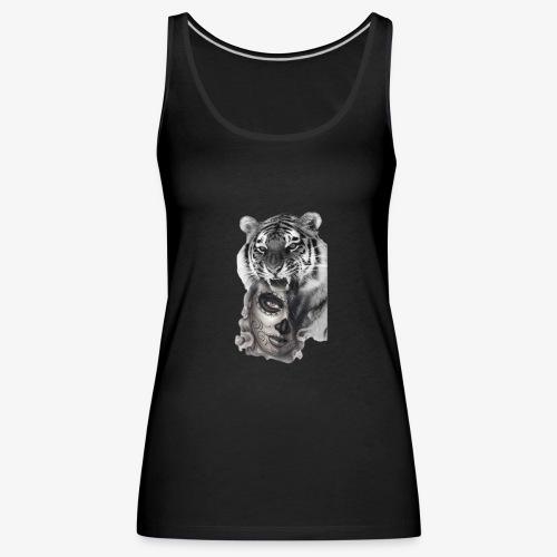 catriger - Camiseta de tirantes premium mujer