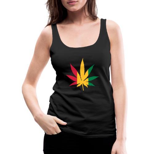Cannabis Rastafari - Frauen Premium Tank Top