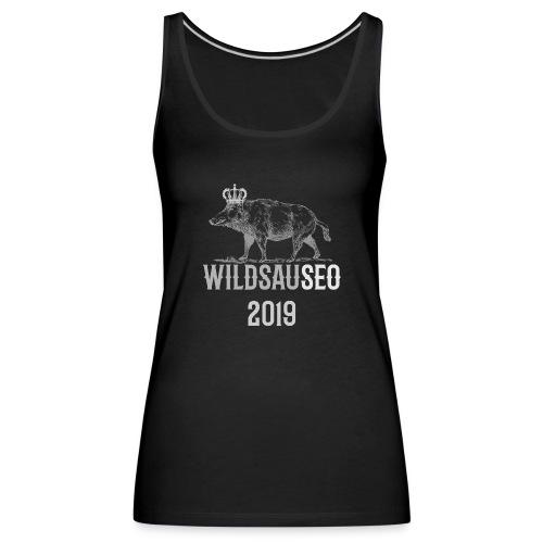 Wildsauseo T-Shirt zur WildSauSeo challenge - Frauen Premium Tank Top