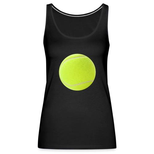 Pelota Padel / Tenis - Camiseta de tirantes premium mujer