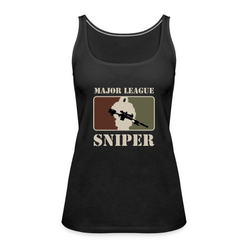 Major League Sniper - Women's Premium Tank Top