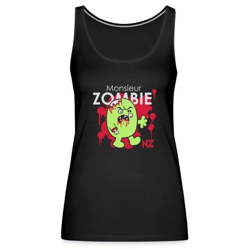 mr zombie - Débardeur Premium Femme