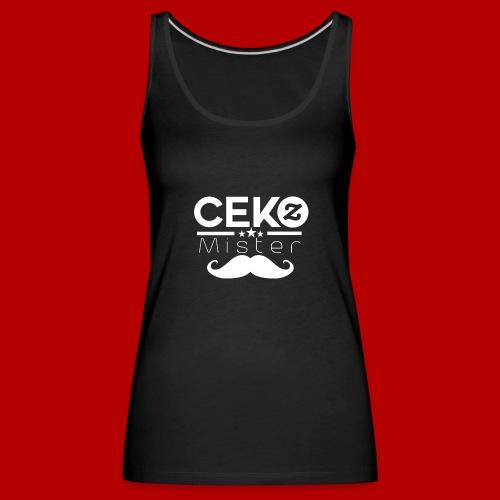 MrCekZ Frauen T-Shirt (Schwarz) - Frauen Premium Tank Top