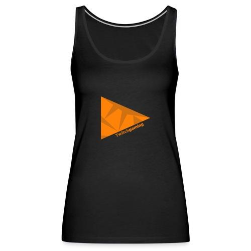 HotPans Twitchgaming Logo hinten - Frauen Premium Tank Top